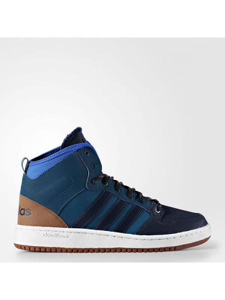 Мужские кроссовки Adidas Cloudfoam Hoops Winter Mid - AC7791