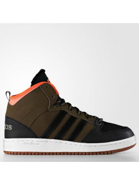 Мужские кроссовки Adidas Cloudfoam Hoops Winter Mid - AC7790