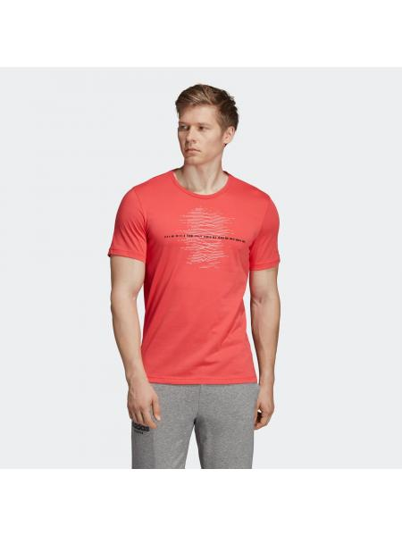 Мужская футболка Adidas Match Code Graphic Tee - DV2967