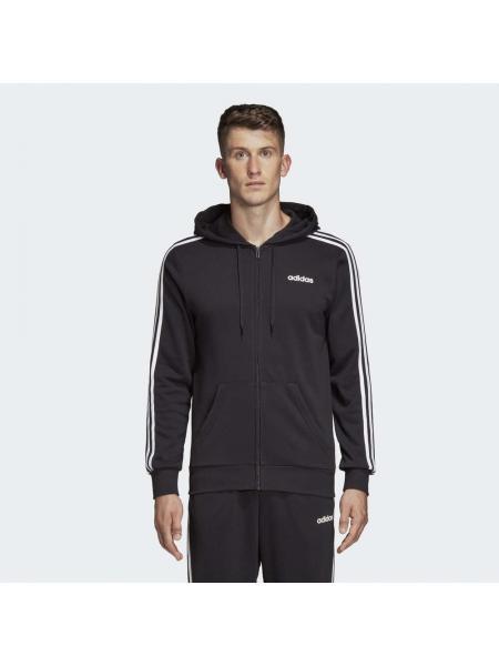 Мужской реглан Adidas Essentials 3-Stripes Fleece Hoodie - DQ3102