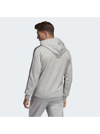 Мужской реглан Adidas Essentials 3-Stripes Fleece Hoodie - DU0476