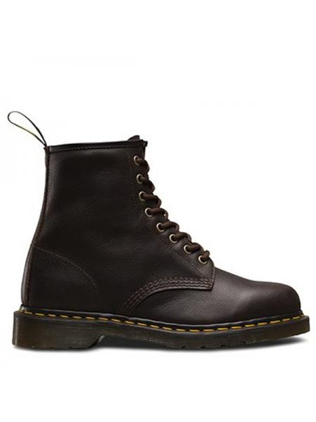 "Женские ботинки Dr. Martens 1460 Brown Smooth ""VEGAN"" W02"