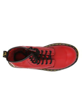 "Женские ботинки Dr. Martens 1460 Cherry Red Smooth ""VEGAN"" W01"