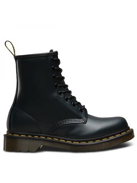 "Женские ботинки Dr. Martens 1460 Navy Smooth ""VEGAN"" W04"