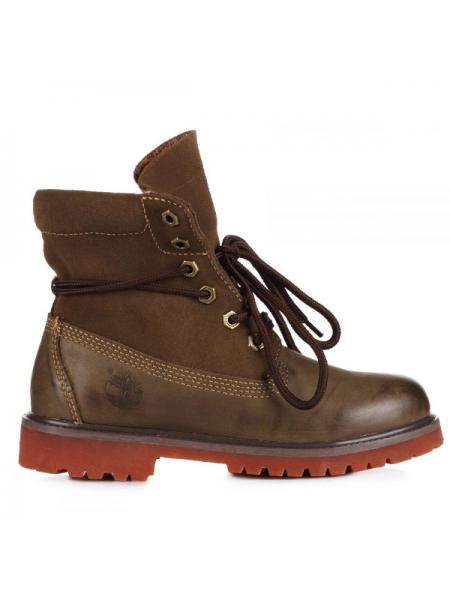 Женские ботинки Classic Timberland Bandits Khaki W03
