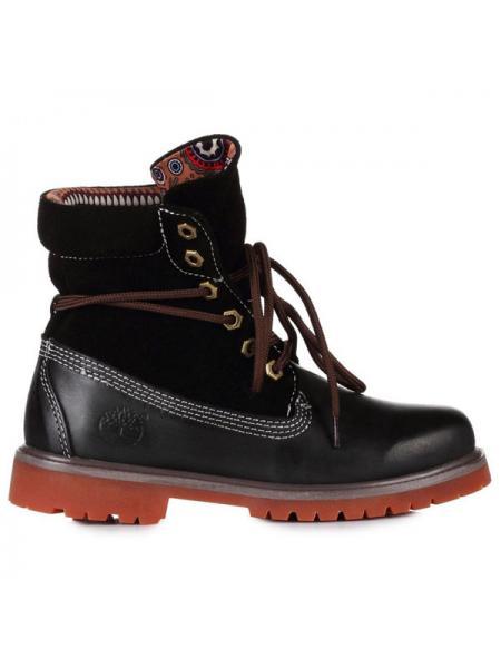 Женские ботинки Classic Timberland Bandits Black W01