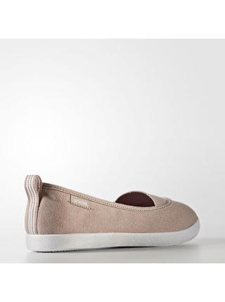 Женские балетки Adidas Cloudfoam QT Vulc Slip-On - AW3987