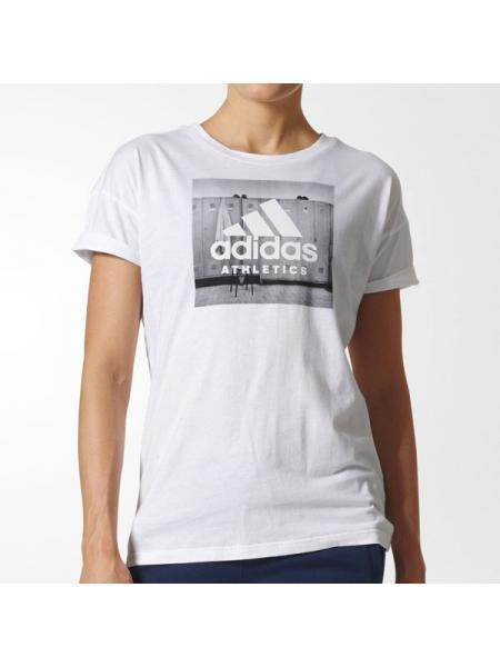 Женская футболка Adidas Athletics - BP8363