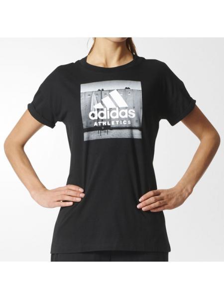 Женская футболка Adidas Athletics - BP8365
