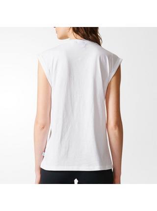 Женская футболка Adidas Boyfriend Trefoil - BP5471