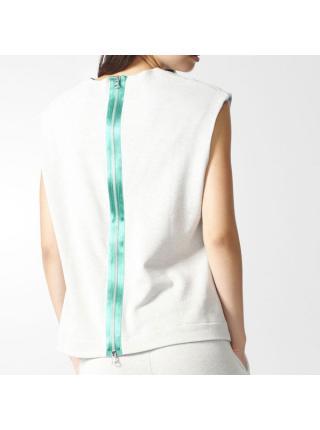 Женская футболка Adidas Crop Sleeve - BK2278