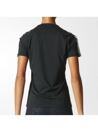 Женская футболка Adidas D2M 3-Stripes - BK2682