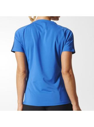Женская футболка Adidas D2M 3-Stripes - BK2683