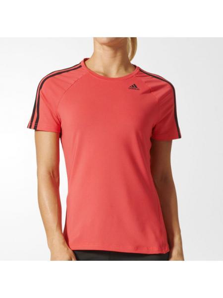 Женская футболка Adidas D2M 3-Stripes - BK2685
