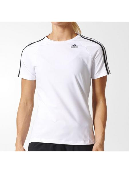 Женская футболка Adidas D2M 3-Stripes - BK2686