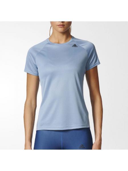 Женская футболка Adidas D2M Tee Lose - BK2713