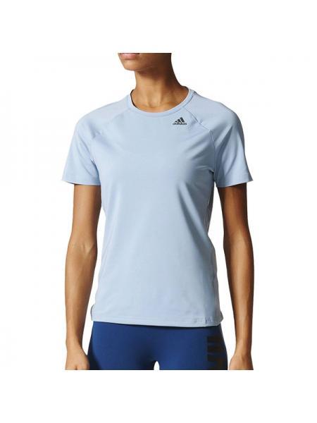 Женская футболка Adidas D2M Tee Solid - BK2692