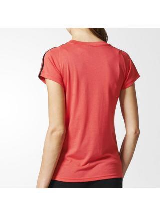 Женская футболка Adidas Essential 3-Stripes - S97184