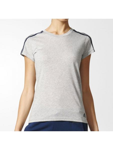 Женская футболка Adidas Essential 3-Stripes - S97186