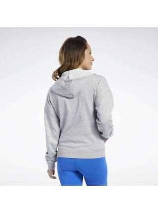 Женская толстовка Reebok Training Essentials Full-Zip - FK6647